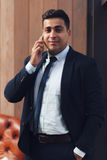 Lyckad chef av affärsföretaget royaltyfri bild