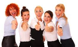 Lyckade affärskvinnor Royaltyfri Foto
