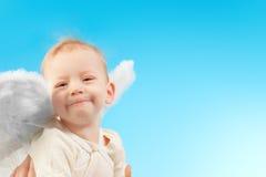 lycklig ängel Fotografering för Bildbyråer