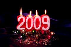 lycklig 2009 Fotografering för Bildbyråer