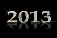 Lycklig 2013 Arkivbild