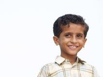 lycklig asiatisk pojke Arkivfoto