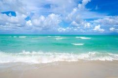 Lycklig bakgrund för dag för fader` s på Miamiet Beach Royaltyfri Fotografi