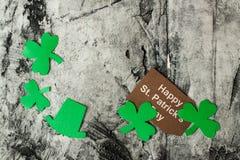 Lycklig bakgrund för dag för St Patrick ` s Arkivfoto