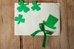 Lycklig bakgrund för dag för St Patrick ` s Fotografering för Bildbyråer