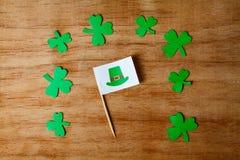 Lycklig bakgrund för dag för St Patrick ` s Arkivfoton