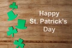 Lycklig bakgrund för dag för St Patrick ` s Royaltyfri Foto