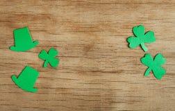 Lycklig bakgrund för dag för St Patrick ` s Arkivbild