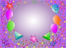lycklig bakgrundsfödelsedag Royaltyfri Bild