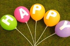 Lycklig ballong Royaltyfria Bilder