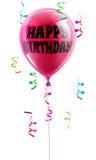 lycklig ballongfödelsedag vektor illustrationer