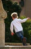 lycklig barndom Arkivfoto