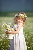 lycklig barndom Royaltyfri Fotografi