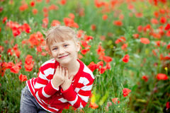 lycklig barndom Royaltyfria Foton