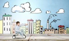 lycklig barndom Fotografering för Bildbyråer