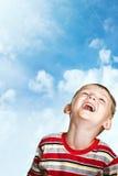 lycklig barndom Arkivbild
