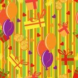 lycklig bevekelsegrundmodell för födelsedag Arkivbilder