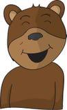 Lycklig björn Royaltyfri Fotografi
