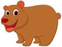 Lycklig björntecknad film vektor illustrationer