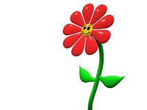 lycklig blomma Royaltyfri Bild