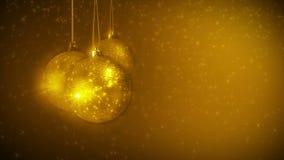 Lycklig boll för nytt år stock video