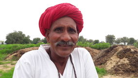 lycklig bonde Arkivfoton