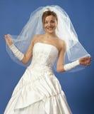 lycklig brud Royaltyfria Foton