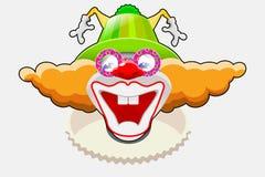 lycklig clown Royaltyfri Bild