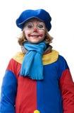 Lycklig clown Arkivbilder