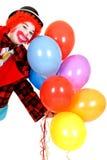lycklig clown Royaltyfri Foto