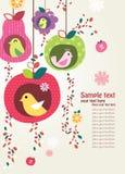 lycklig dag royaltyfri illustrationer