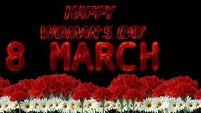 Lycklig dag för kvinna` s stock video