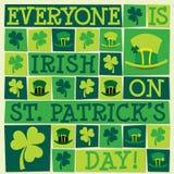 Lycklig dag för St Patrick ` s! Royaltyfri Foto