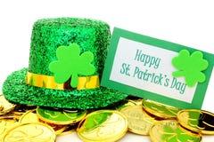Lycklig dag för St Patricks arkivfoto