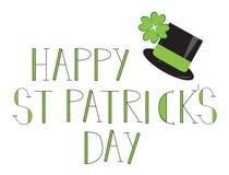 Lycklig dag för St. Patricks Arkivbilder