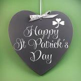 Lycklig daghälsning för St Patricks Royaltyfria Bilder