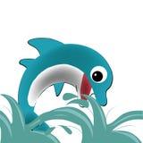 Lycklig delfin Royaltyfria Foton