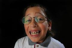 lycklig deltagare för pojke Royaltyfri Bild