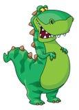 lycklig dinosaur stock illustrationer