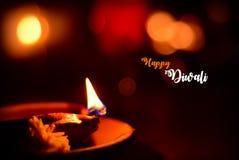 lycklig diwali royaltyfria bilder