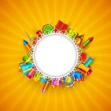 lycklig diwali Fotografering för Bildbyråer