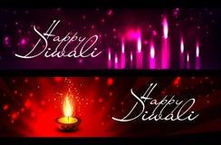 Lycklig diwali för vektor Arkivbilder