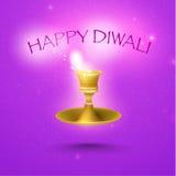 Lycklig Diwali vektordesign Royaltyfri Fotografi