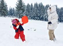 lycklig dotter henne leka kvinna Fotografering för Bildbyråer