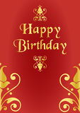 lycklig födelsedag Royaltyfri Bild
