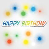 Lycklig födelsedag 4 Arkivbilder