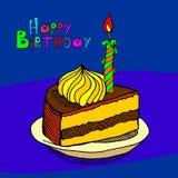 lycklig födelsedag vektor illustrationer