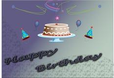 lycklig födelsedag Arkivfoto