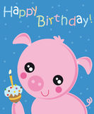 lycklig födelsedag royaltyfri illustrationer