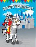 Lycklig födelsedag för bakgrundsdesign Royaltyfria Bilder